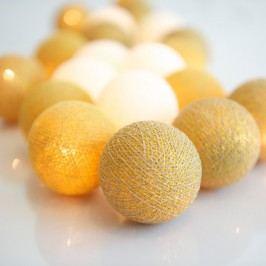 Șirag luminos Irislights Golden, 20 beculețe