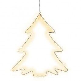 Decorațiune suspendată luminoasă cu LED Best Season Lumiwall Tree