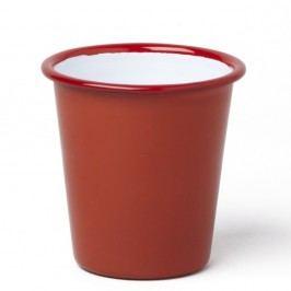 Pahar smălțuit Falcon Enamelware, 310 ml, roșu