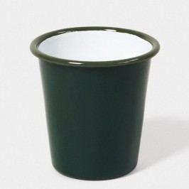 Pahar smălțuit Falcon Enamelware, 310 ml, verde închis