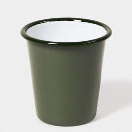 Pahar smălțuit Falcon Enamelware, 310 ml, verde salvie