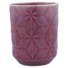 Pahar din ceramică Green Gate Kallia, mov