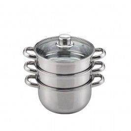 Oală pentru gătire cu aburi, Sabichi Esentials Induction, 18 cm