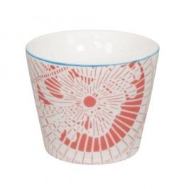 Cană din porțelan Tokyo Design Studio Shiki, 180 ml, alb-roșu