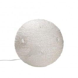 Veioză Mauro Ferretti Paralume, alb, 40 cm