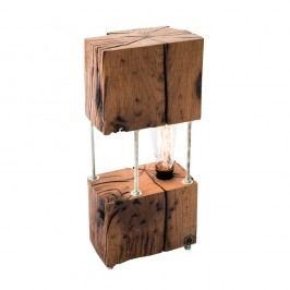 Veioză din lemn de stejar FLAME furniture Inc. Cube