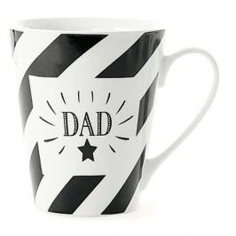 Cană din porțelan Miss Étoile Coffee Dad, Ø 8,5 cm