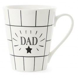 Cană din porțelan Miss Étoile Coffee Daddy, Ø 8,5 cm