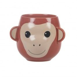 Cană Sass & Belle Treetop Friends Happy Monkey Mug