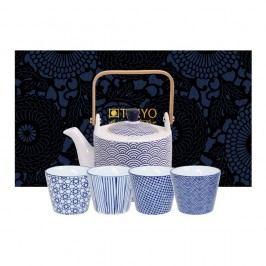 Set ceainic și cești Tokyo Design Studio Wave