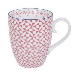 Cană din porțelan Tokyo Design Studio Loy, 380 ml, roz
