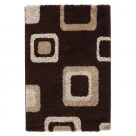 Covor Think Rugs Majesty, 80 x 150 cm, maro