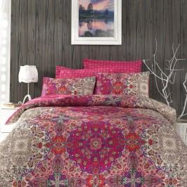Lenjerie de pat cu cearșaf Tugba , 200x220cm