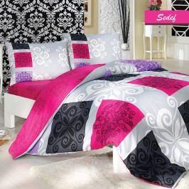 Lenjerie de pat cu cearșaf Sedef, 200 x 220 cm