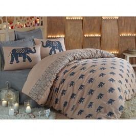 Lenjerie de pat cu cearșaf Fil, 200x220cm