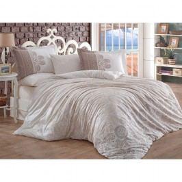 Lenjerie de pat cu cearșaf Irene, 200 x 220 cm