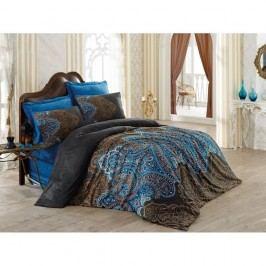 Lenjerie de pat cu cearșaf Diba, 200 x 220 cm