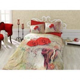 Lenjerie de pat cu cearșaf Greda, 200 x 220 cm
