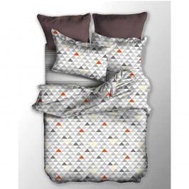 Lenjerie de pat reversibilă din microfibră DecoKing Basic Fizzy, 135 x 200 cm