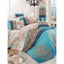 Lenjerie de pat cu cearșaf Katre, 200 x 220 cm