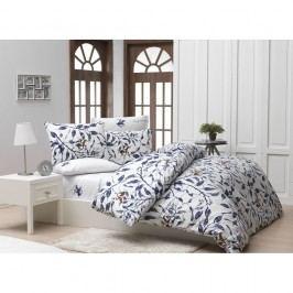 Lenjerie de pat cu cearșaf Beverly Hills Polo Club Cleland, 160 x 220 cm