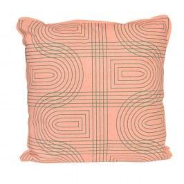 Pernă ETH Retro, 45 x 45 cm, roz