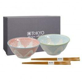 Set 2 boluri din porțelan Tokyo Design Studio Yoko Yoki