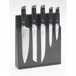 Set 5 cuțite cu suport magnetic Jean Dubost Massif