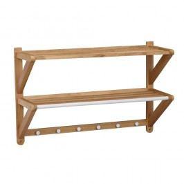 Cuier de perete din lemn de stejar Folke Tran
