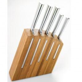 Set 5 cuțite cu suport Jean Dubost Kimono Bamboo