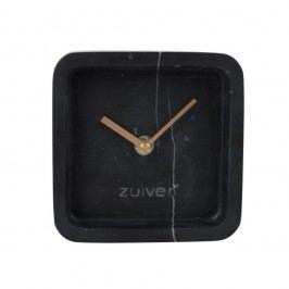 Ceas de perete din marmură Zuiver Luxury Time, negru