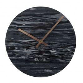Ceas de perete din marmură Zuiver Marble Time, gri