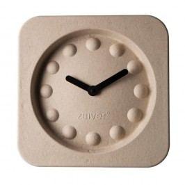 Ceas de perete Zuiver Pulp Square, bej