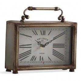 Ceas de masă Geese Old, argintiu
