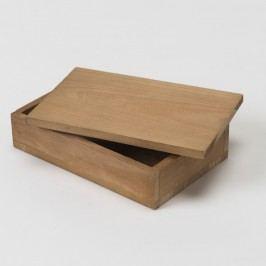 Cutie din lemn Compactor Vintage Box, lățime 14 cm