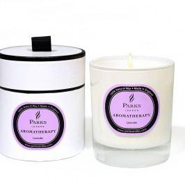 Lumânare parfumată Parks Candles London Aromatherapy, aromă de lavandă, 45 ore