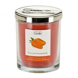 Lumânare parfumată Copenhagen Candles English Strawberry, 40 ore
