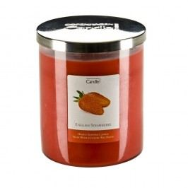 Lumânare parfumată Copenhagen Candles English Strawberry, 70 ore