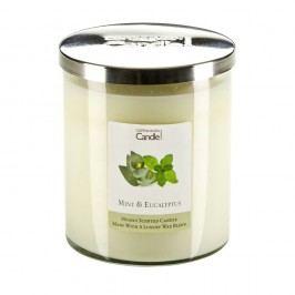 Lumânare parfumată Copenhagen Candles Mint & Eucalyptus, 70 ore