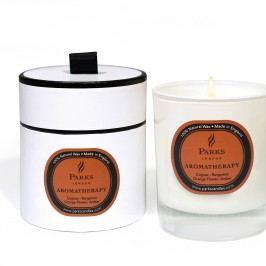 Lumânare parfumată Parks Candles London Aromatherapy, aromă de coniac, 50 ore