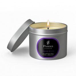Lumânare Parks Candles London Lavender, 25 de ore de ardere, aromă de lavandă și lămâie verde