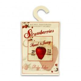 Săculeț parfumat cu aromă de căpșuni Boles d'olor