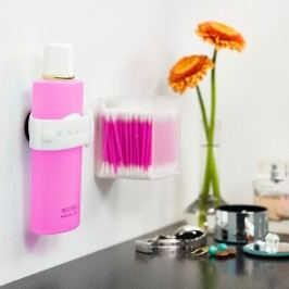 Suport magnetic pentru șampon și gel de duș Reenbergs, alb