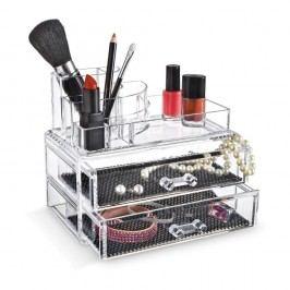 Organizator cosmetice cu compartimente Domopak Make Up