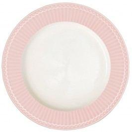 Farfurie Green Gate Alice, diametru 26,5 cm, roz