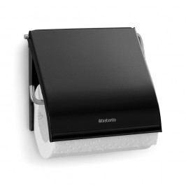 Suport pentru hârtie igienică Brabantia Spa, negru
