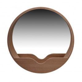 Oglindă cu spațiu de depozitare Zuiver Round Wall, ⌀ 60 cm