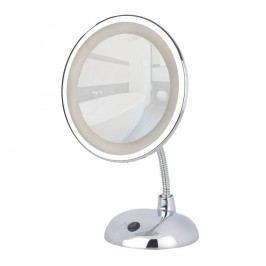 Oglindă cosmetică cromată cu LED Wenko Style