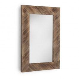 Oglindă de perete Geese, 80 x 121 cm, maro