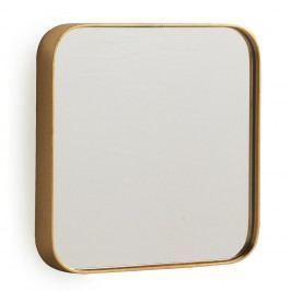 Oglindă de perete Geese Pure, 40 x 40 cm, auriu